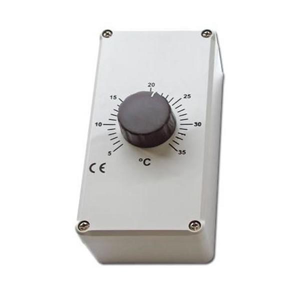thermostat raumthermostat casafan cth10 ip54 ebay. Black Bedroom Furniture Sets. Home Design Ideas
