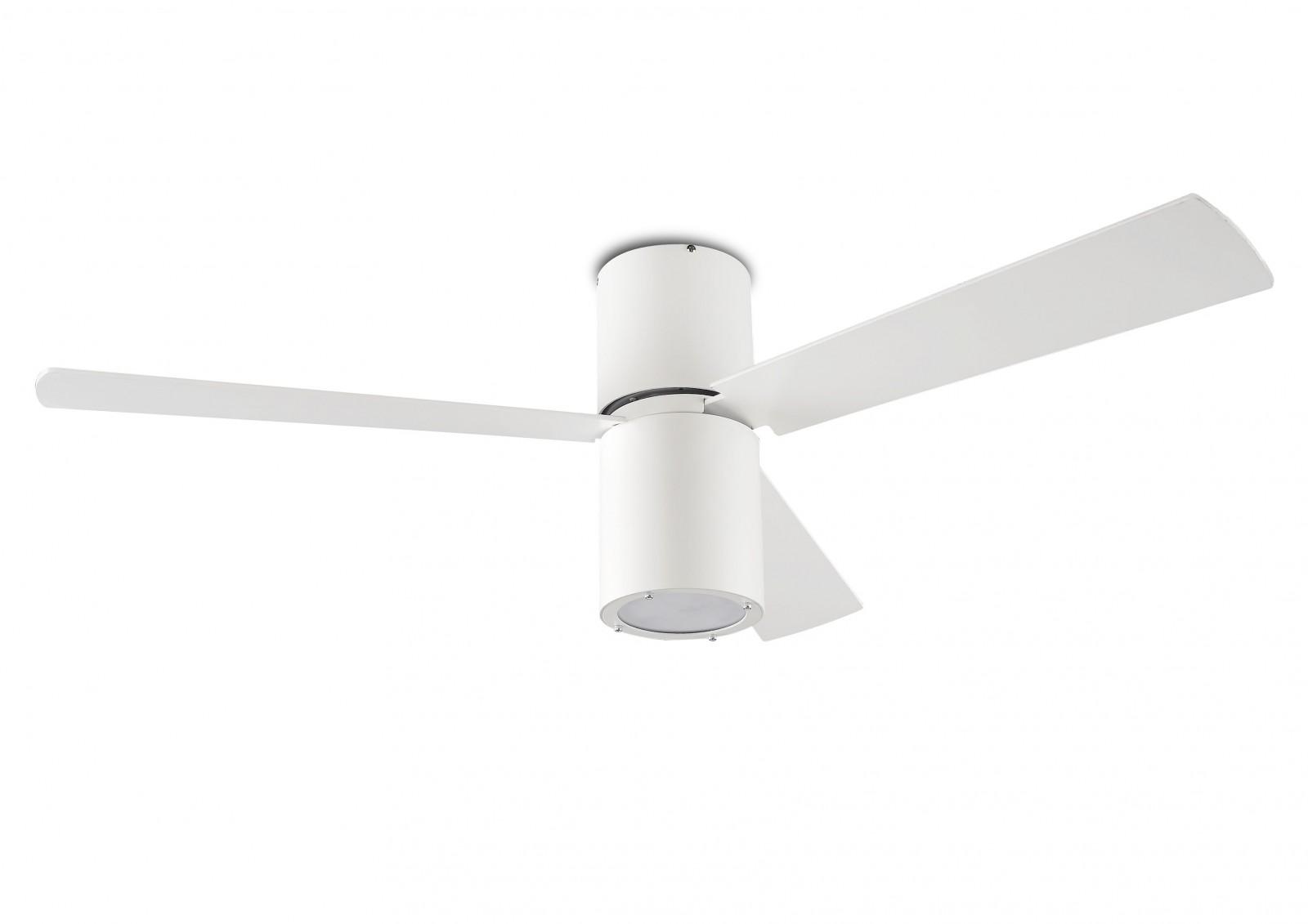 Ventilatore Da Soffitto Di Design Formentera Bianco 132 cm con luce  eBay