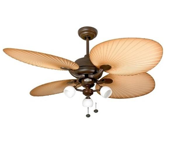 outdoor deckenventilator palm chocolate brown mit. Black Bedroom Furniture Sets. Home Design Ideas
