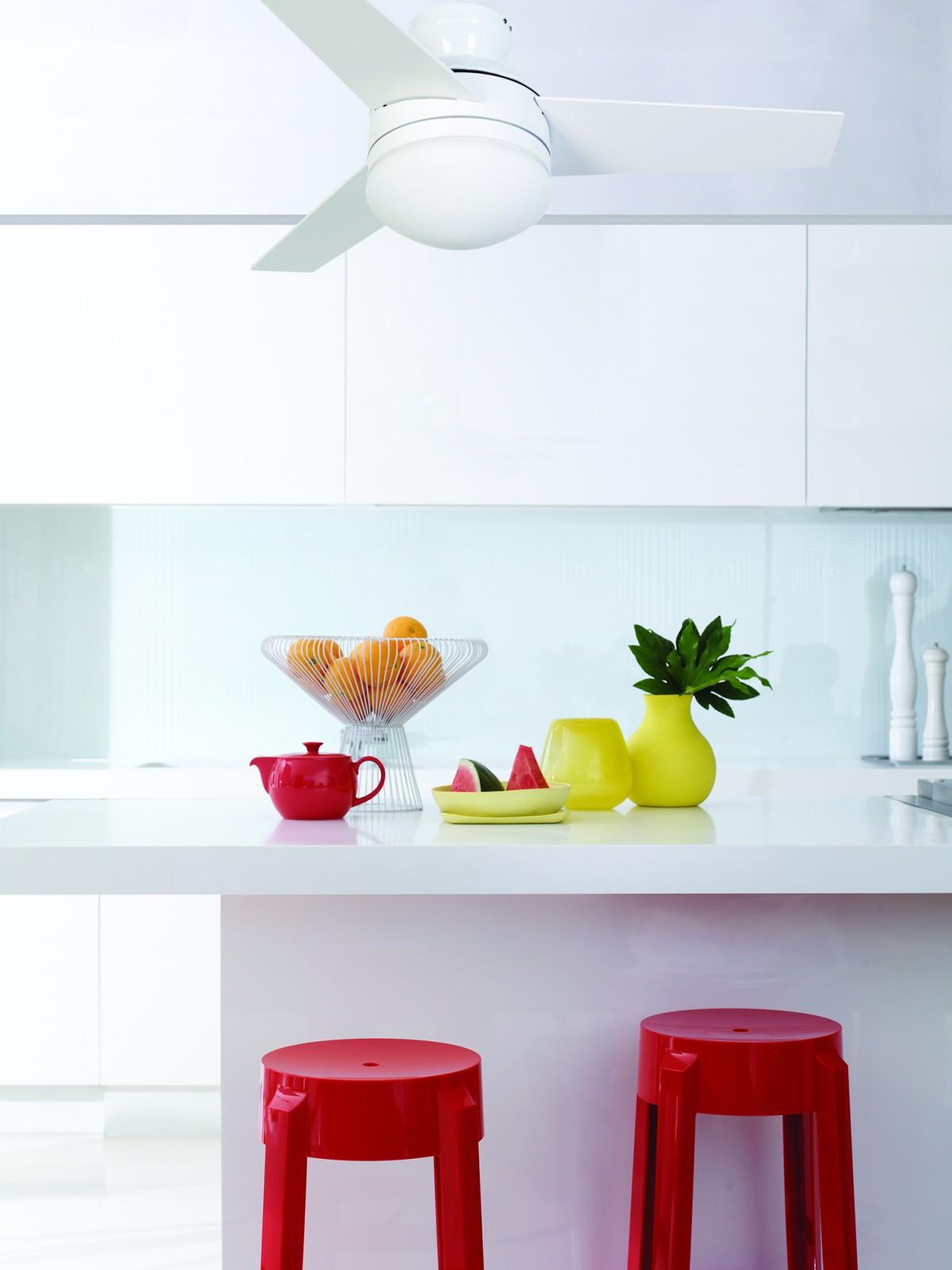 Deckenventilator für Feuchträume und Außenbereiche