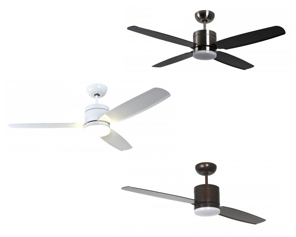 innovativer energiespar deckenventilator turno mit led. Black Bedroom Furniture Sets. Home Design Ideas