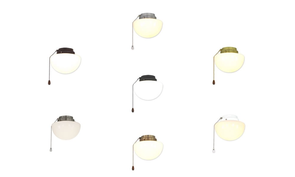 deckenventilator anbauleuchte 1s f r casafan und hunter in. Black Bedroom Furniture Sets. Home Design Ideas