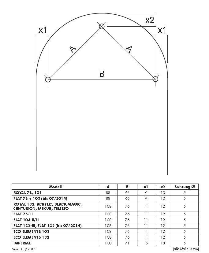 Austauschflügelsatz für CasaFan Deckenventilator Flat 103-III Eco Elements 103