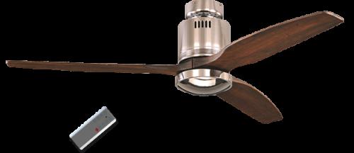 deckenventilator aerodynamix chrom gl nzend nussbaum mit und ohne beleuchtung deckenventilator. Black Bedroom Furniture Sets. Home Design Ideas