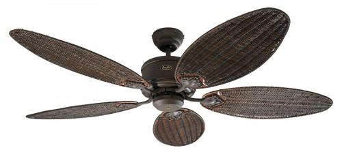 Deckenventilator Mit Beleuchtung Antik : Deckenventilator Eco Elements Braun Antik mit Flügelsatz Rattan Antik ...